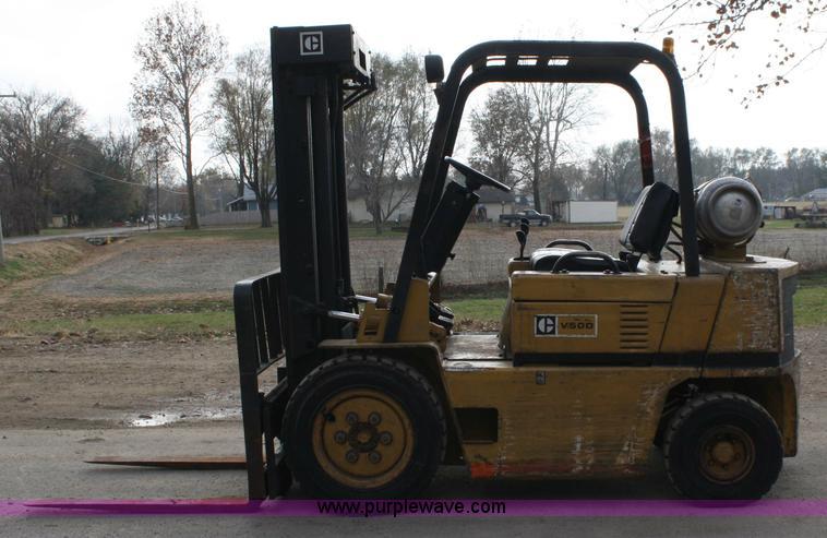 Caterpillar V50D forklift | Item 4792 | SOLD! December 9 Con