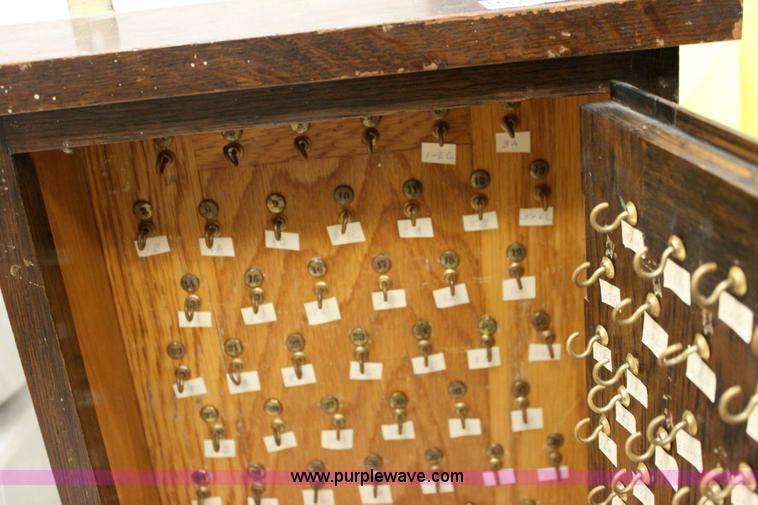 ... 3633 Image For Item 3633 Wood Key Cabinet