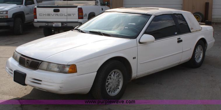 1994 mercury cougar xr7 in atchison ks item 4829 sold purple wave 1994 mercury cougar xr7 in atchison ks
