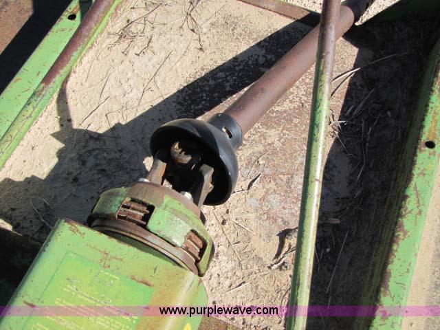 John Deere 609 rotary mower   Item 8283   SOLD! December 15