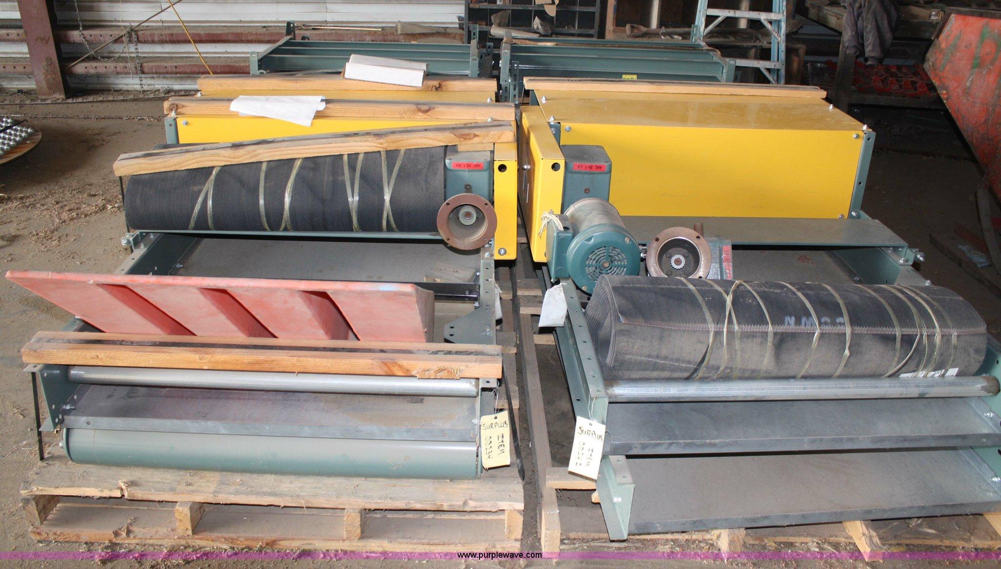 2) Hytrol belt conveyors   Item 4885   SOLD! December 29 Mi