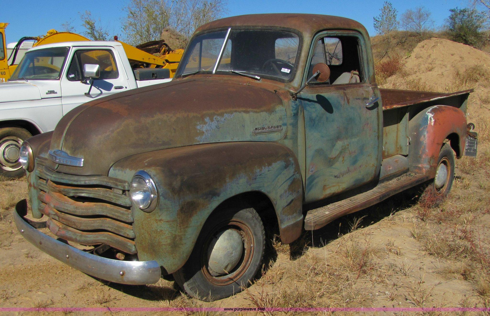 1951 Chevrolet 5600 3/4 ton pickup truck | Item 5162 ...