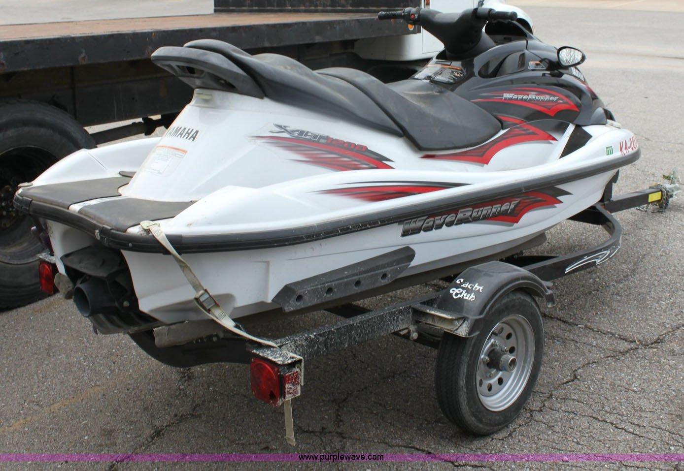 2003 yamaha wave runner xlt 1200 jet ski item 6533 for Yamaha jet skis