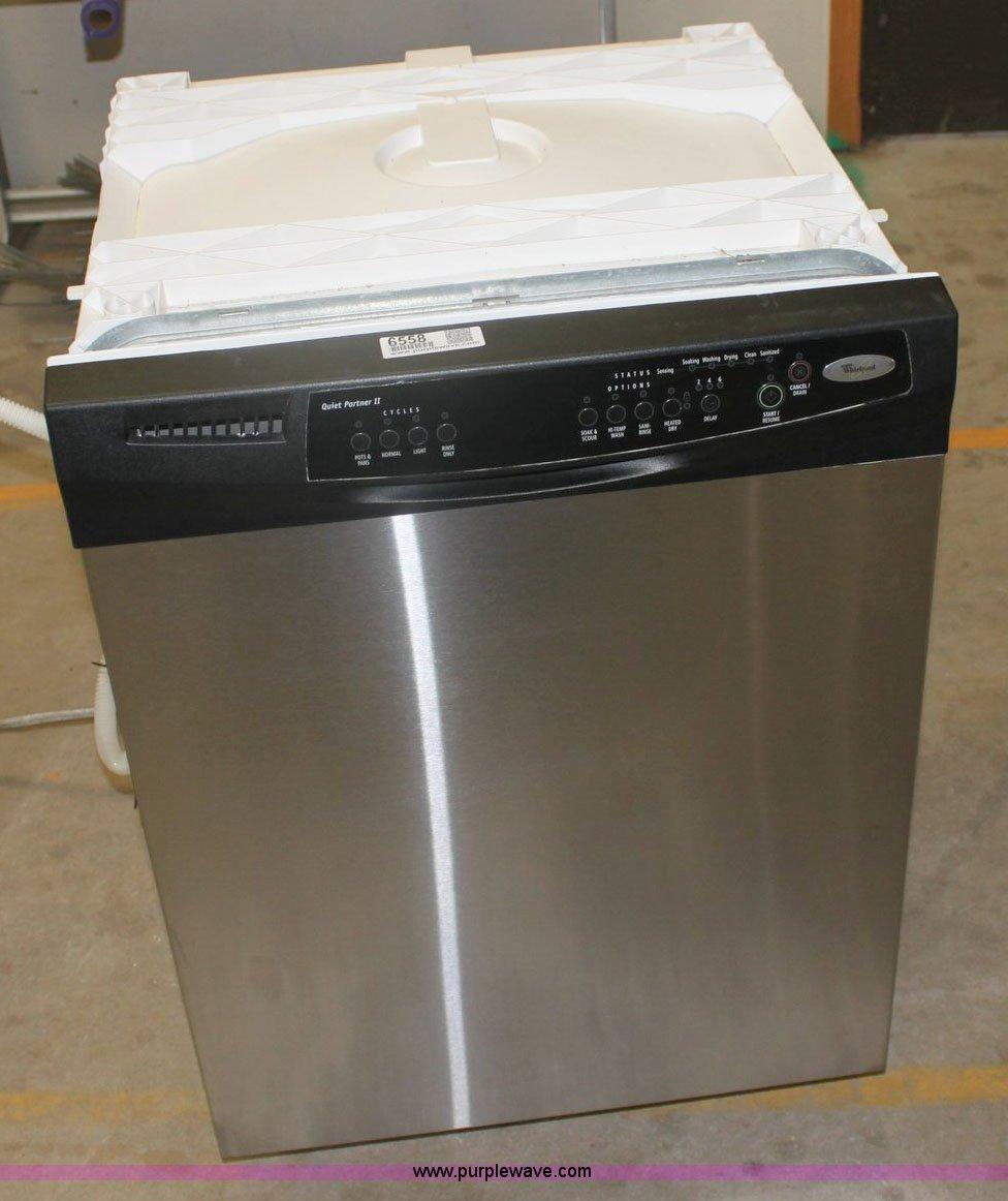 Whirlpool Quiet Partner Ii Stainless Steel Dishwasher
