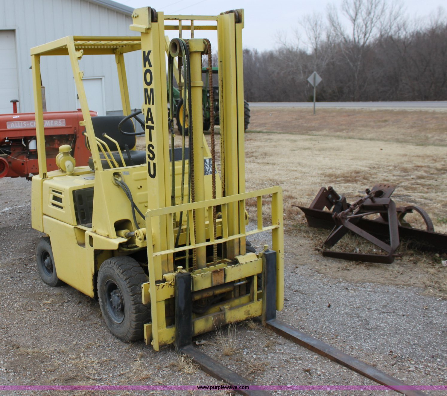 Komatsu fd15 1 forklift item 6787 sold january 13 for New construction windows for sale