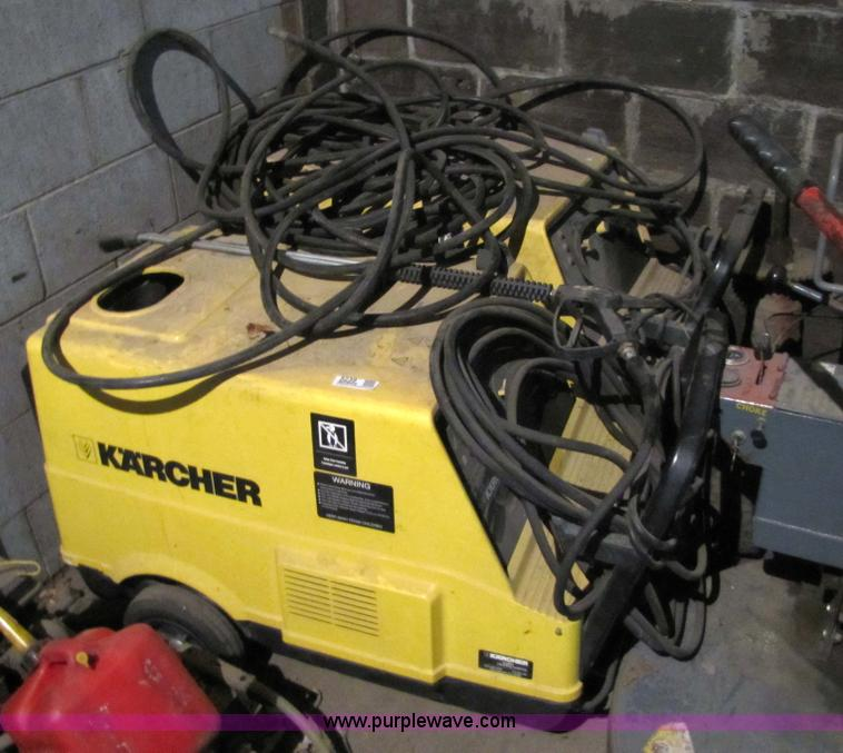 image for item 2 karcher hot water washers