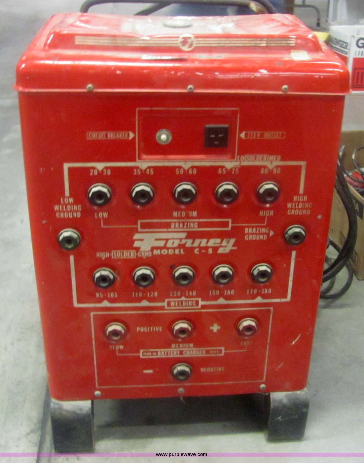 Forney C-5 AC arc welder | Item 6104 | SOLD! January 18 Gove