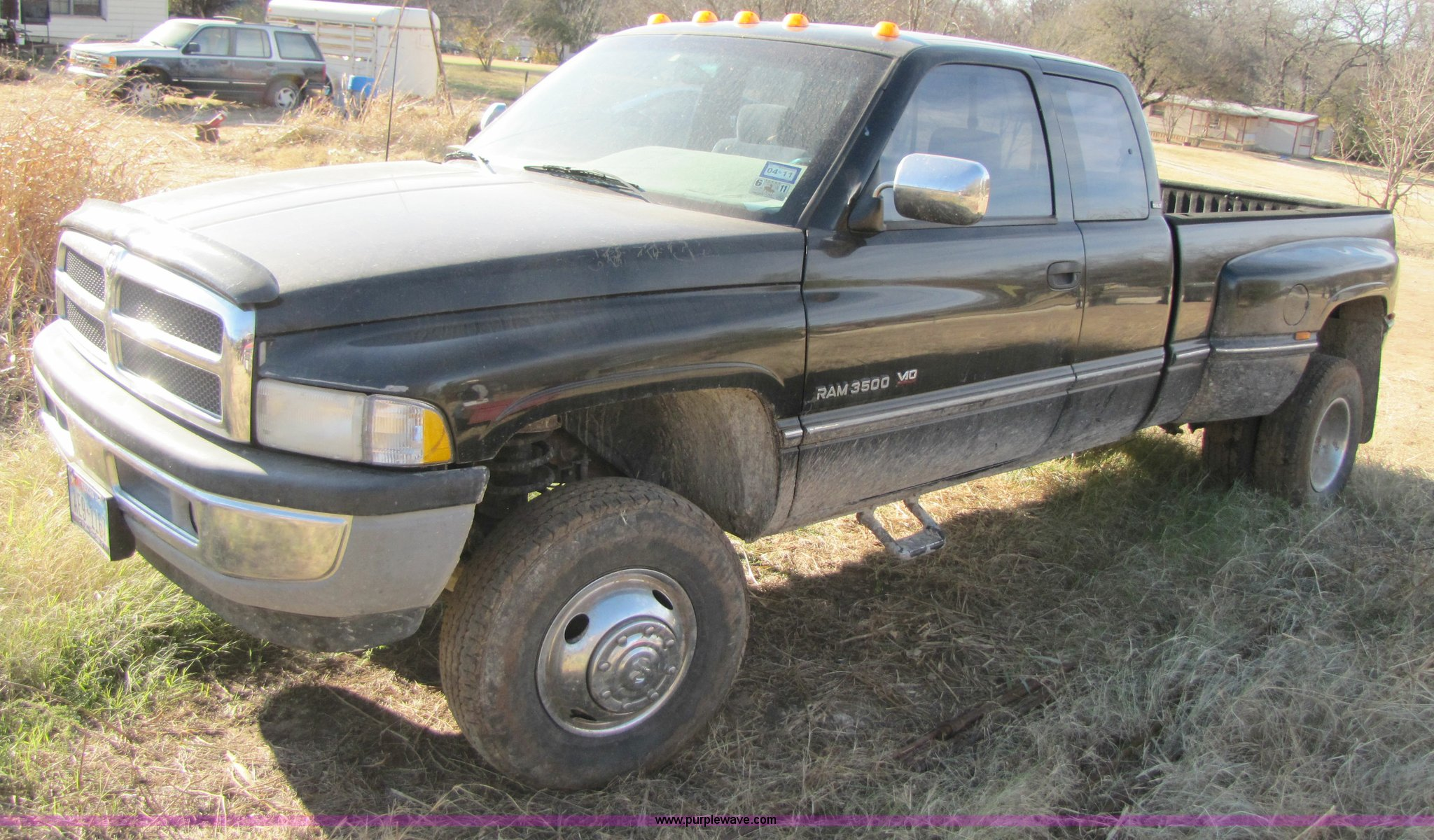 1996 dodge ram 3500 extended cab pickup truck in stephenville tx item 1022 sold purple wave 1996 dodge ram 3500 extended cab pickup