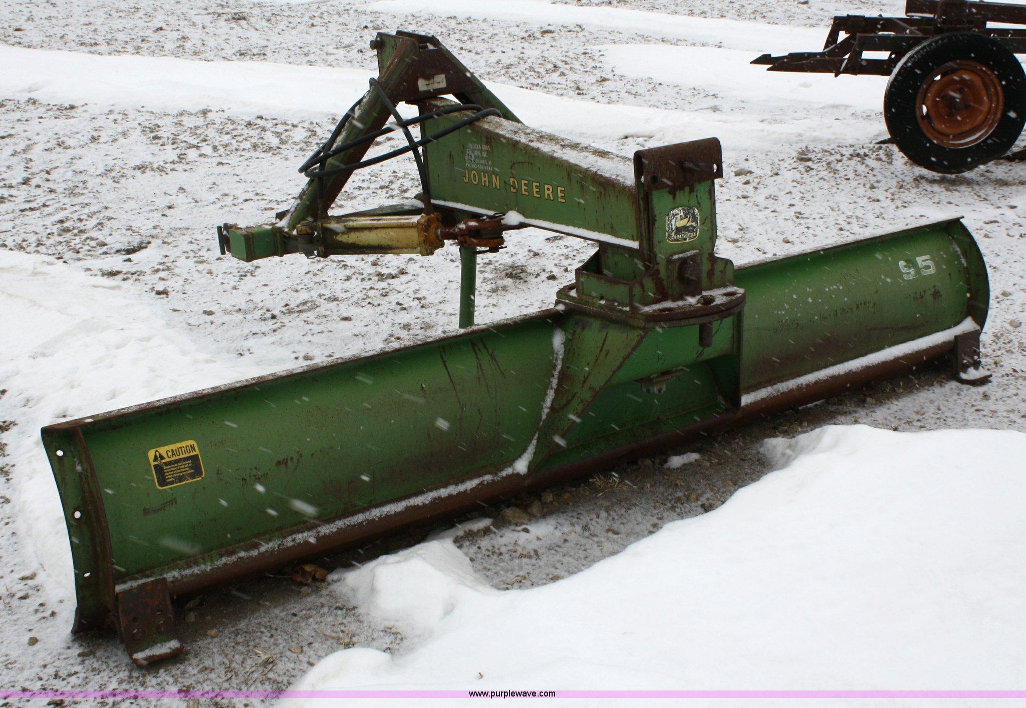 John Deere 95 Rear Blade Item 4645 Sold February 9 Ag