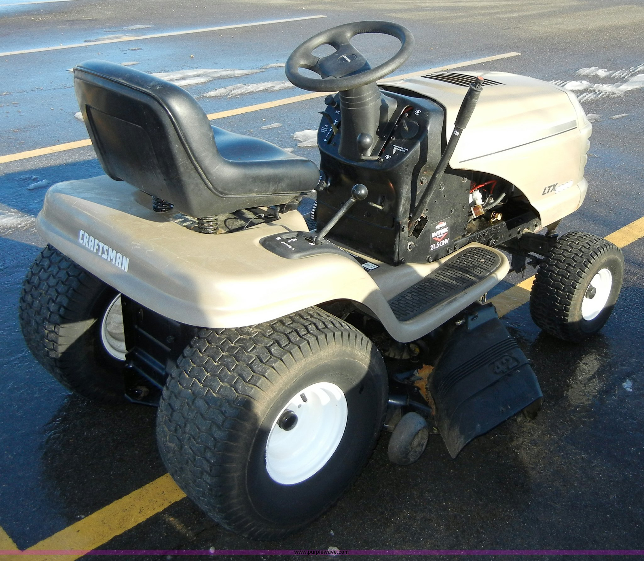 Craftsman LTX 1000 lawn tractor | Item 2135 | SOLD! February