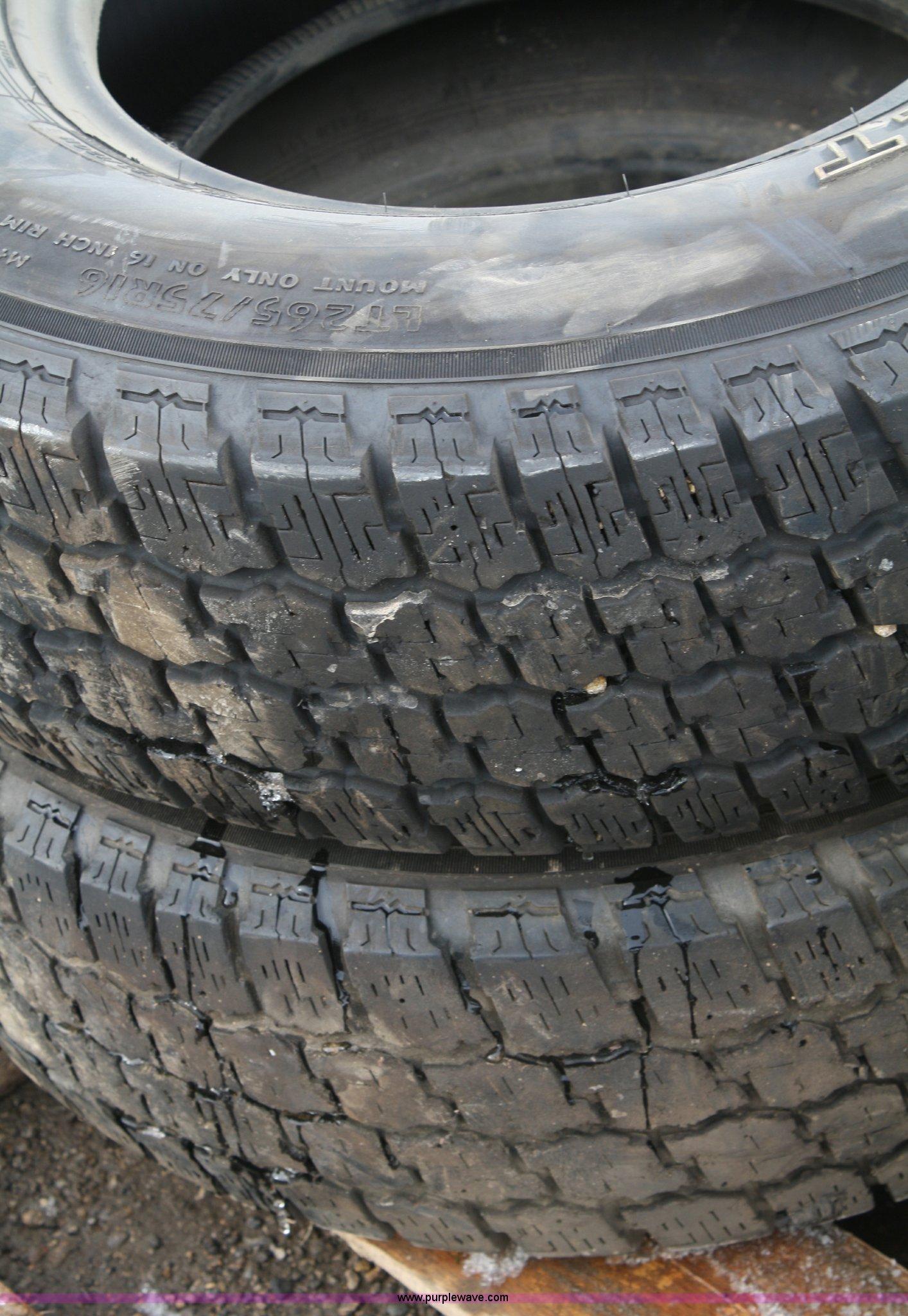 4 Wildcat All Terrain Lt 265 75r16 Used Tires Item 4759