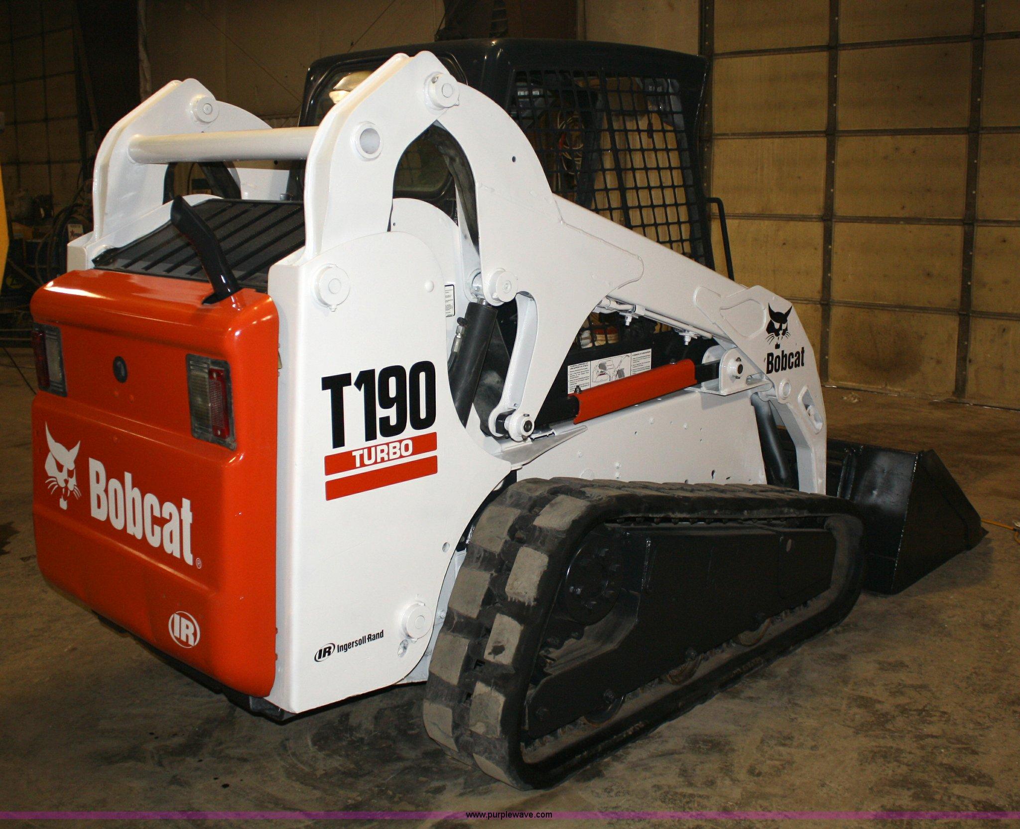 2017 T190 Bobcat Owners Manual