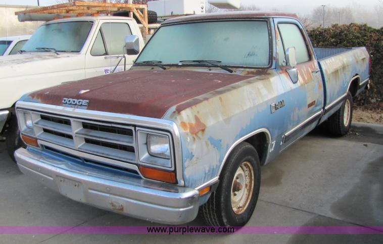 1988 Dodge Ram D-100 pickup truck | Item 5155 | SOLD! March ...
