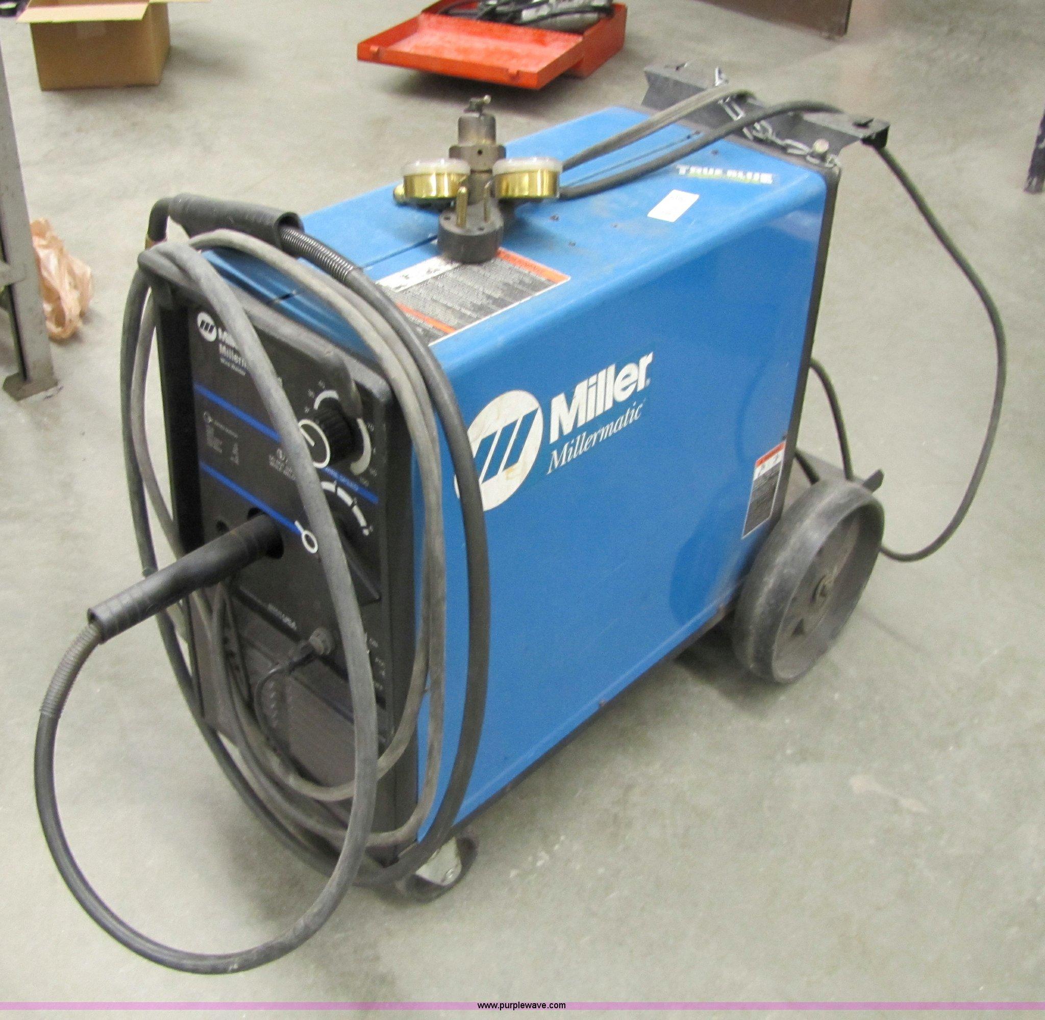 Miller Millermatic 185 wire welder | Item 9311 | SOLD! March...