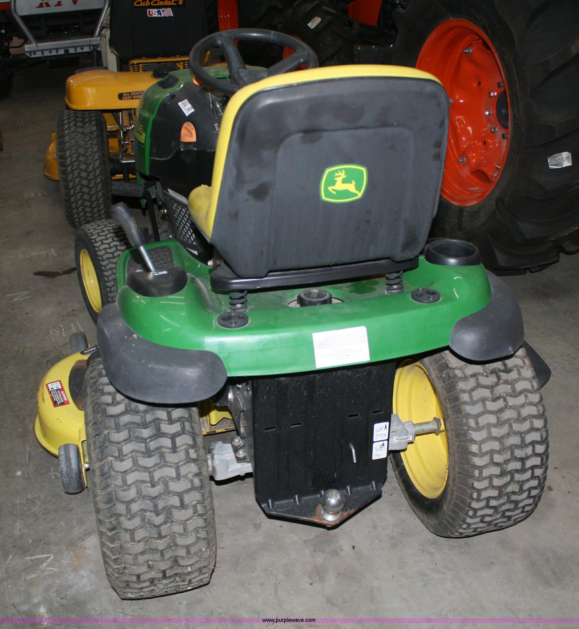 2004 John Deere L120 Lawn Mower Item 4825 Sold