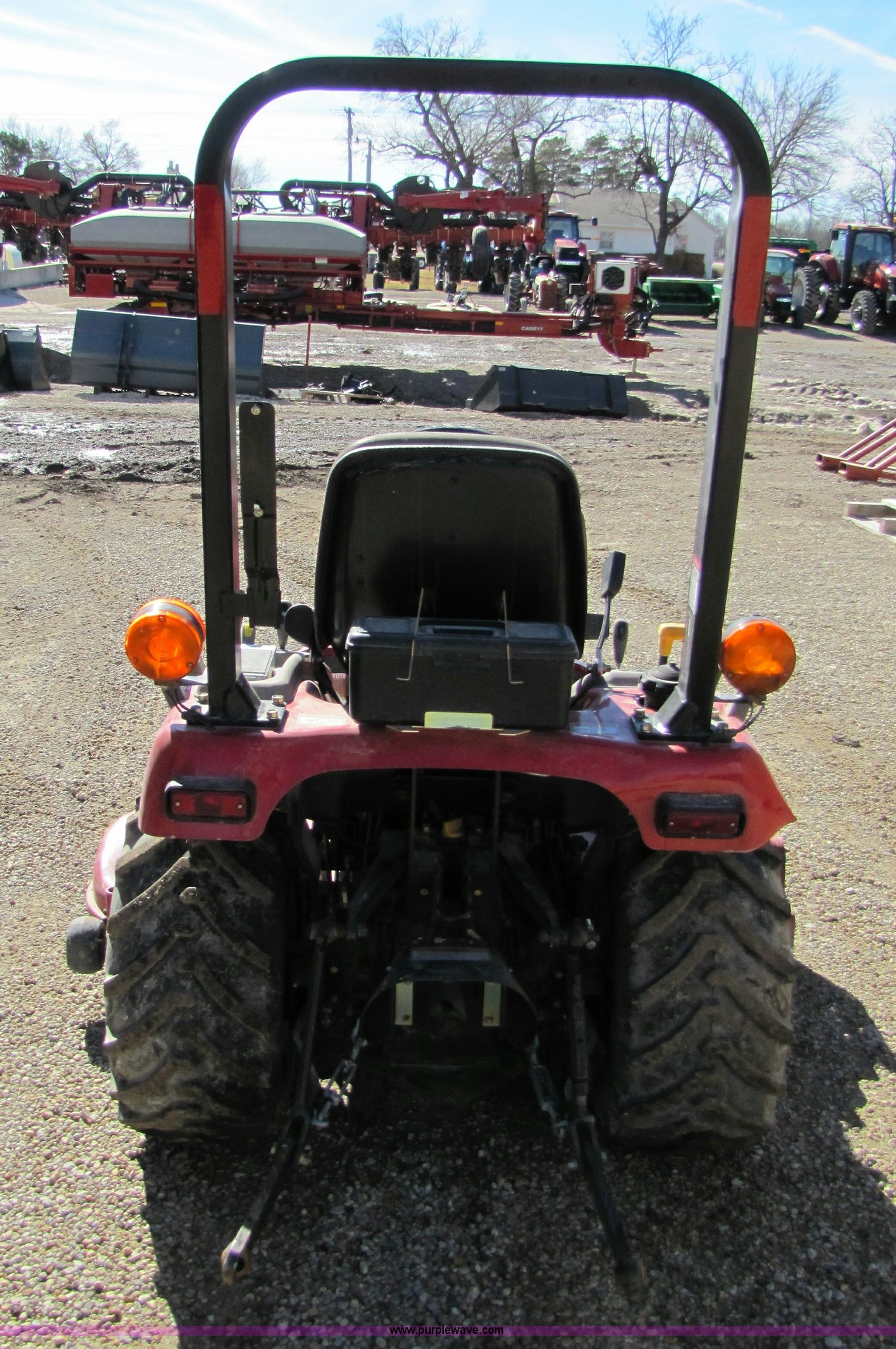 Case International Garden Tractors : Case ih dx garden tractor with mower deck item