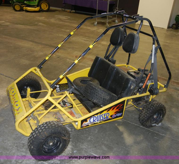 Hyper Fox Go Cart 126cc - 0425