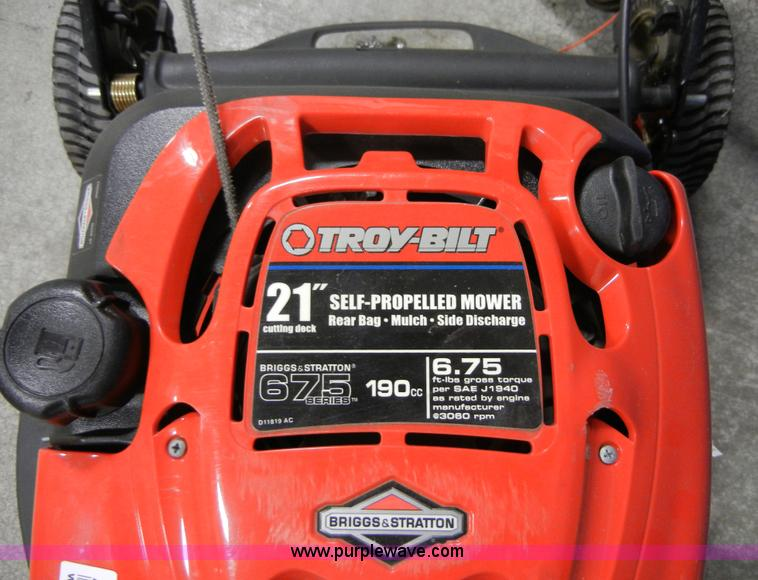 Troy bilt lawn mower 675 series 190cc manual