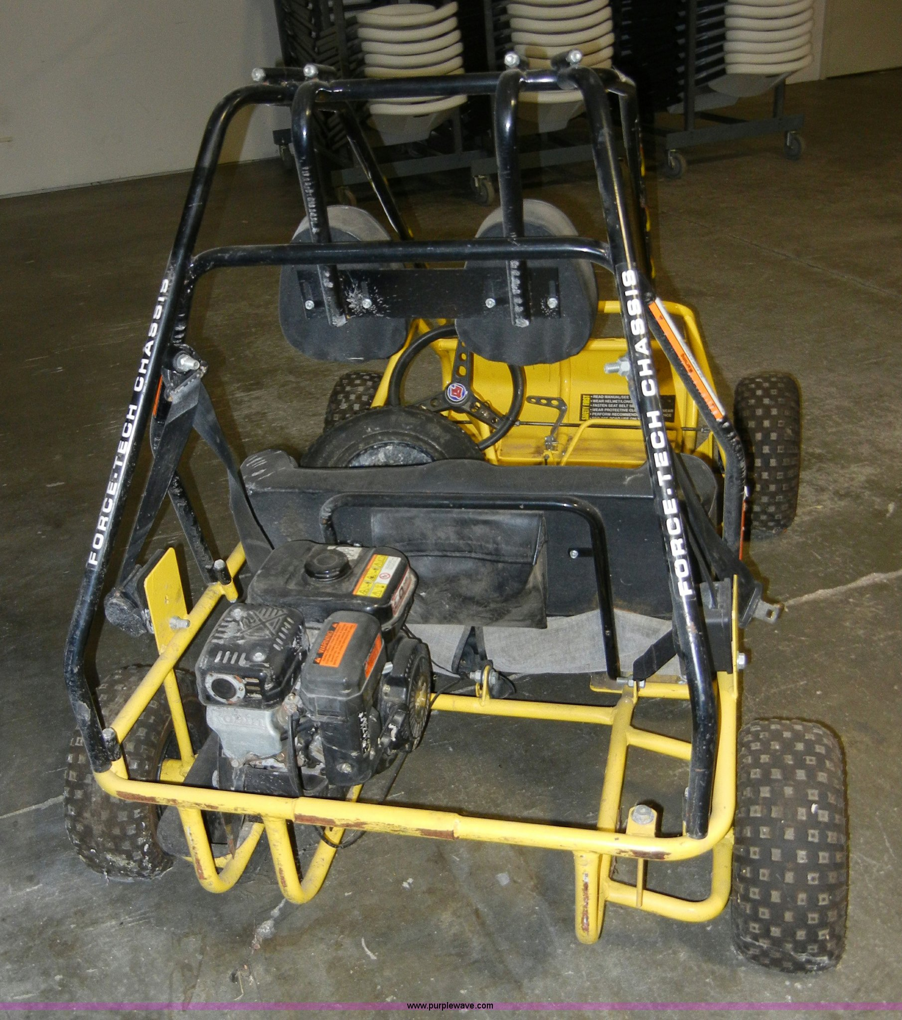 Fox American Cruiser two person go-kart   Item 2285   SOLD!