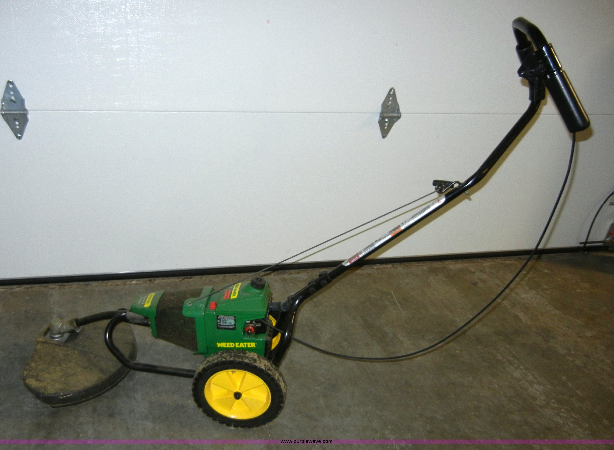 Weed Eater Wt3100 Wheeled Trimmer Item 2340 Sold Kdor K