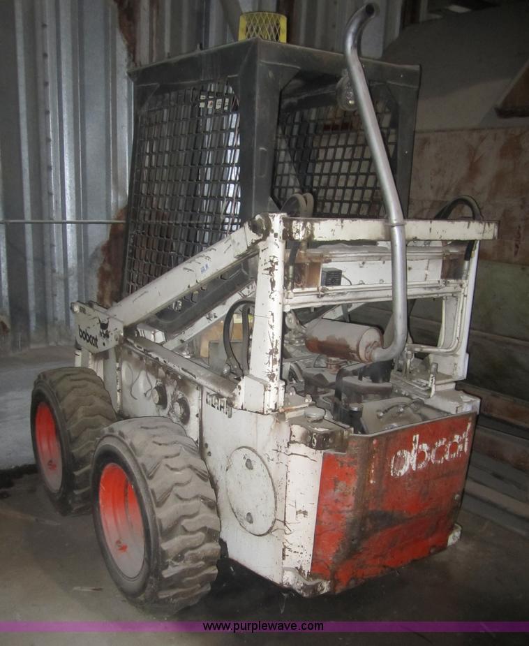 Bobcat 610 skid steer | Item 3139 | SOLD! Wednesday March 23