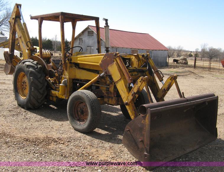 Massey Ferguson Industrial Backhoe Parts : Massey ferguson tractor with loader and backhoe
