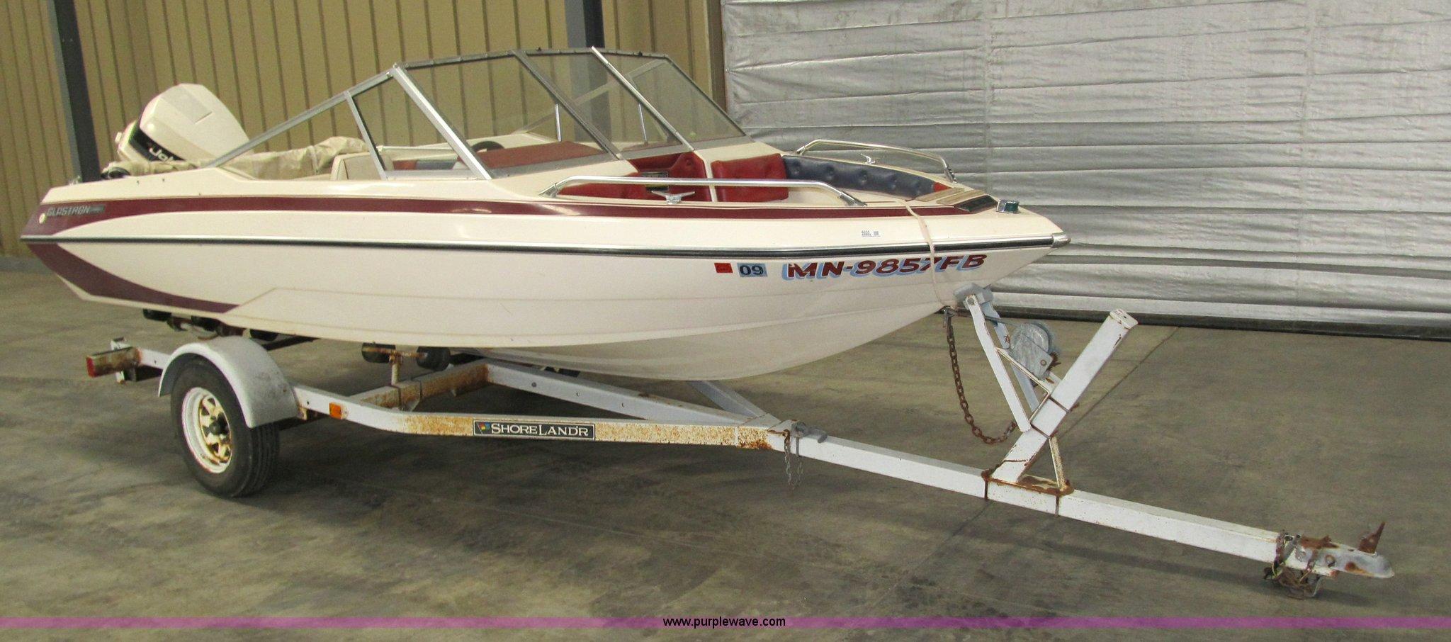 Glastron Conroy X 19 Wiring Diagram 1988 Country Coach 12v 1986 Boat Item 4055 Sold Wednesday Marc Carlson Cvx 20