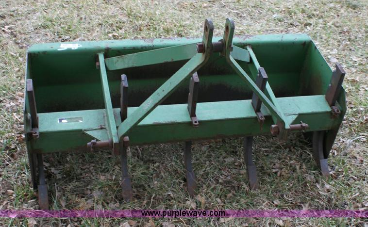 John Deere 40 Box Blade Item 6387 3 30 2011