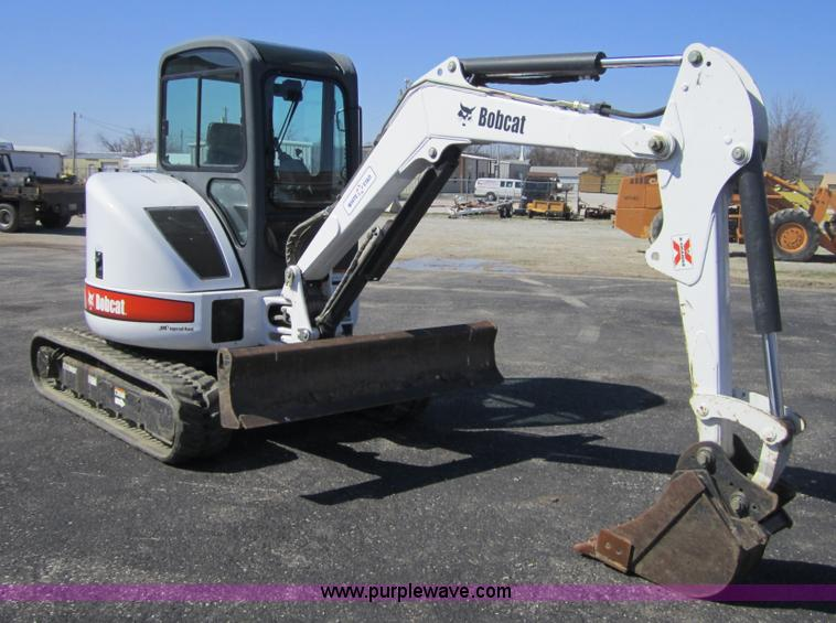 2004 Bobcat 430ZHS compact excavator   Item 3718   SOLD! Thu