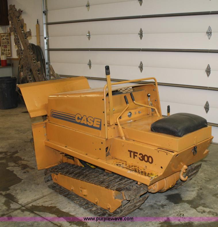 case tf300 trencher item 5047 sold thursday march 31 co rh purplewave com Case TF300 Parts 300 Trencher Machine