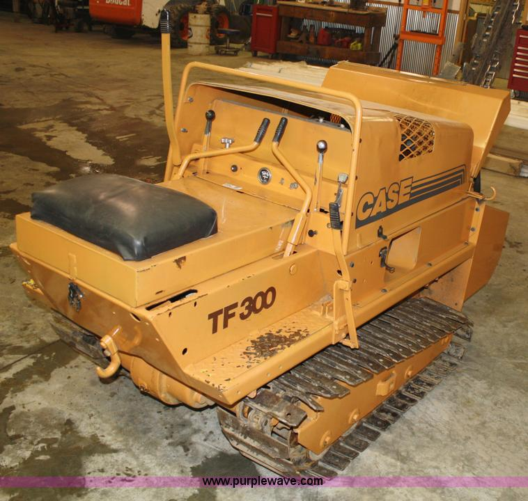 case tf300 trencher item 5047 sold thursday march 31 co rh purplewave com Case TF300 Parts Tuff Trencher