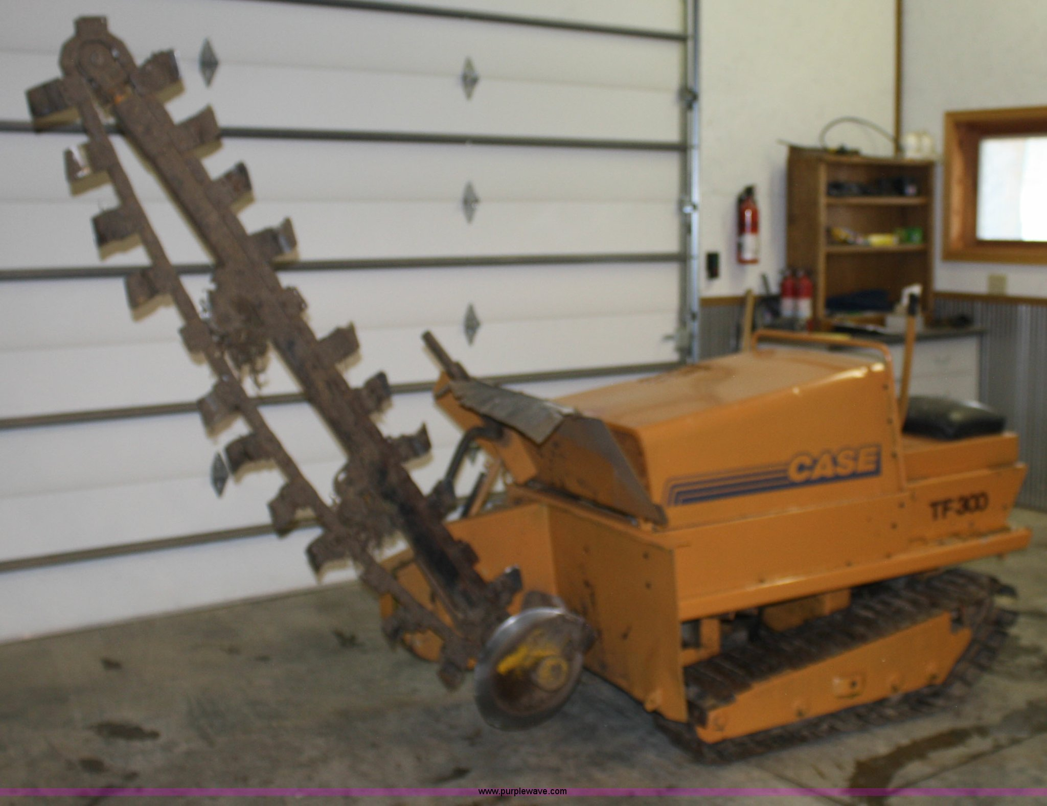 case tf300 trencher item 5047 sold thursday march 31 co rh purplewave com Trencher Problems Davis Trencher Parts
