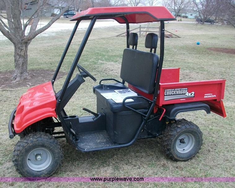 Chuck Wagon Utv : American sportworks chuck wagon utility vehicle