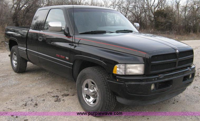 1996 Dodge Ram 1500 Laramie Slt Extended Cab Pickup Truck