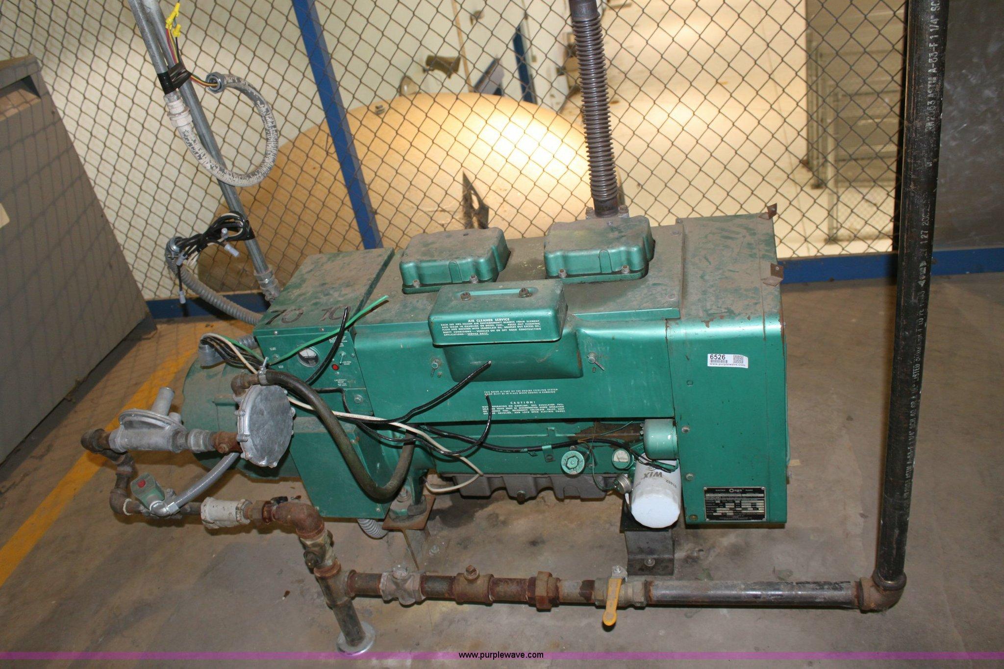 an natural gas generator Item 6526