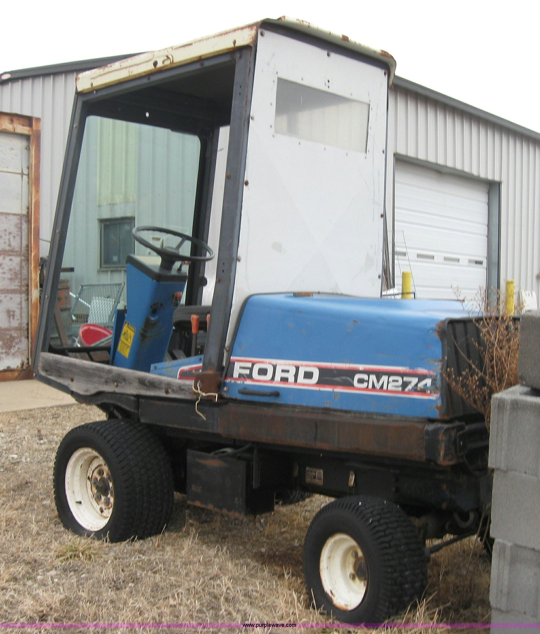 Ford Cm274 Mower In Wamego Ks Item 8510 Sold Purple Wave