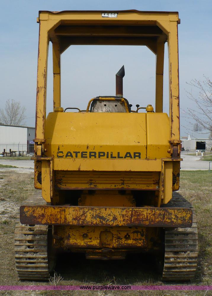 1970 Caterpillar 955K track loader | Item 5999 | SOLD! April