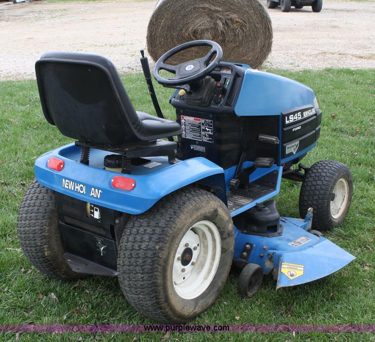 ford new holland ls45 lawn mower item 4673 sold april 2 rh purplewave com Ford LS55 Parts Ford LS55 Parts