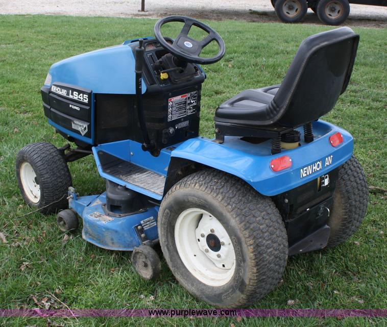 ford new holland ls45 lawn mower item 4673 sold april 2 rh purplewave com Ford LS45 Mower Ford LS45 Belt