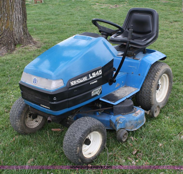 ford new holland ls45 lawn mower item 4673 sold april 2 rh purplewave com Ford LS45 Parts Ford LS45 Mower