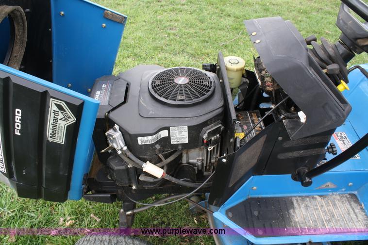 ford new holland ls45 lawn mower item 4673 sold april 2 rh purplewave com Ford LS45 Belt Ford LS55 Parts