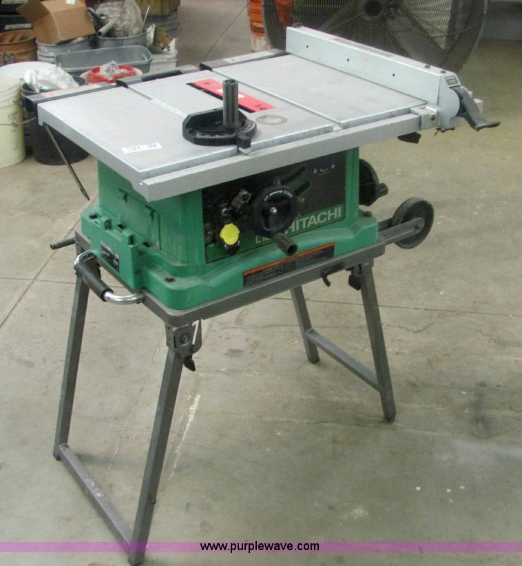 Hitachi C10fr Portable Table Saw Item 7024 Sold April 2