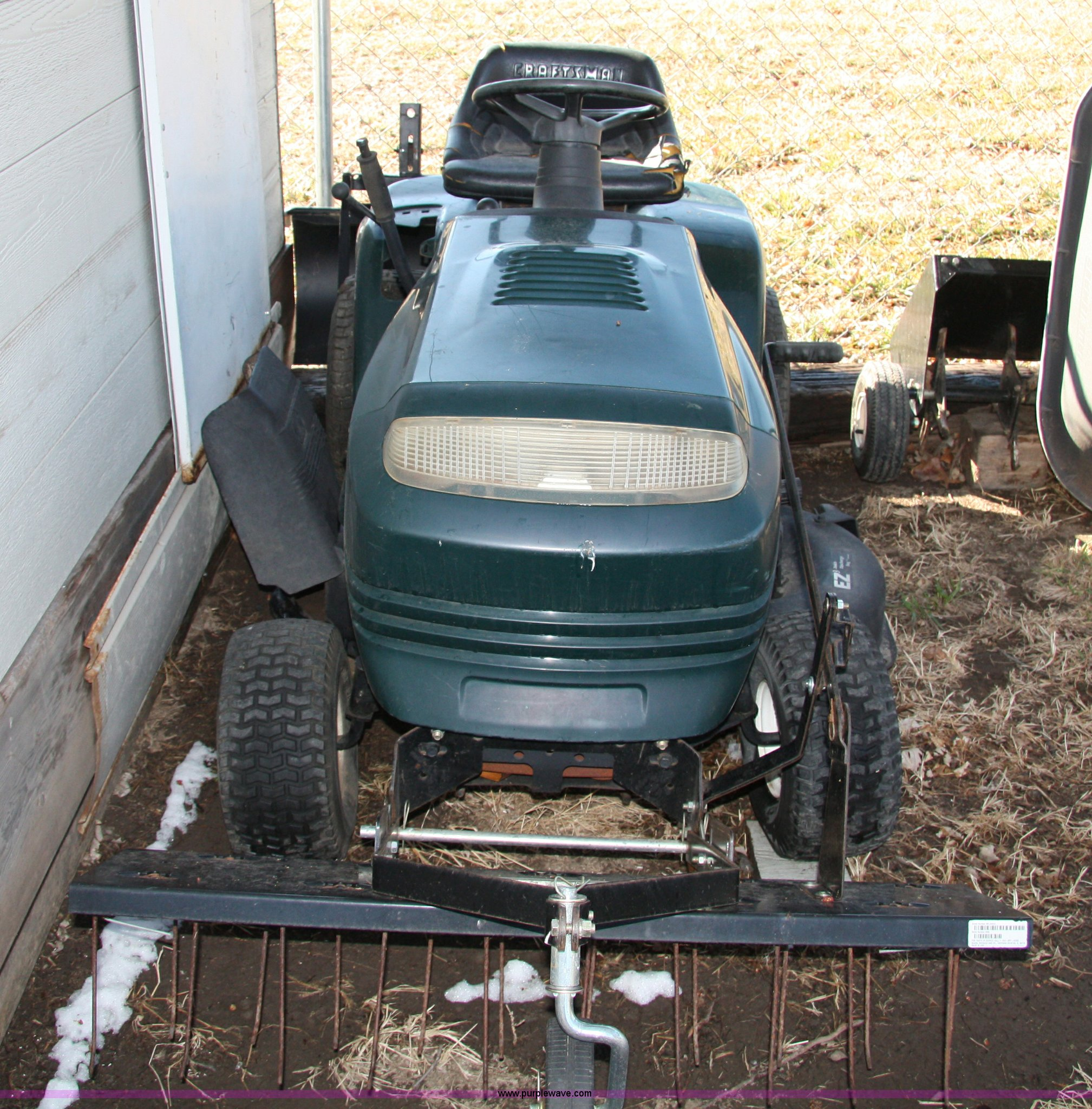 Craftsman Riding Mower Item 1714 Sold April 20 Midwest