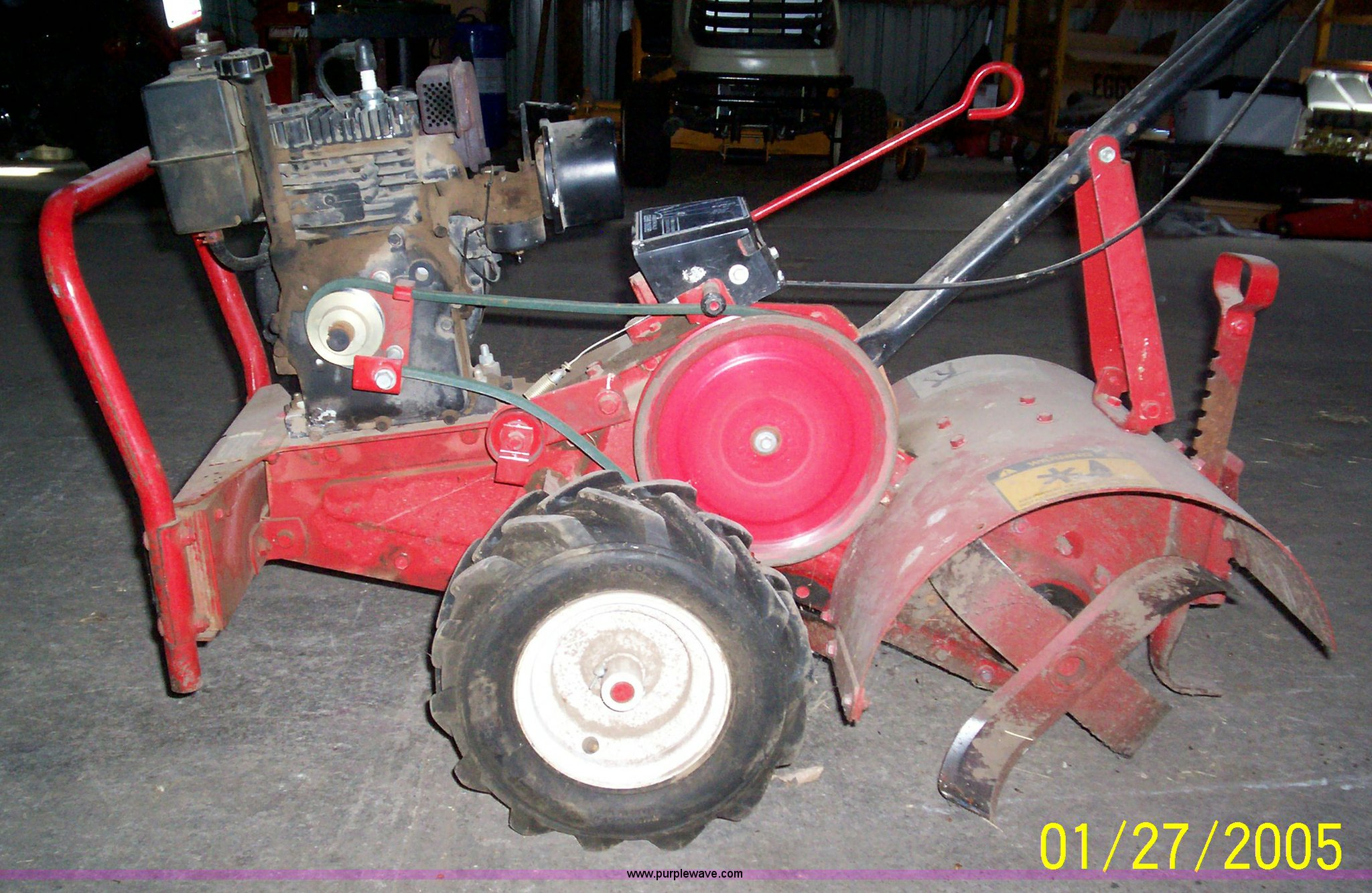 engine garden tiller youtube front stratton tine watch hp craftsman with for and briggs sale rototiller