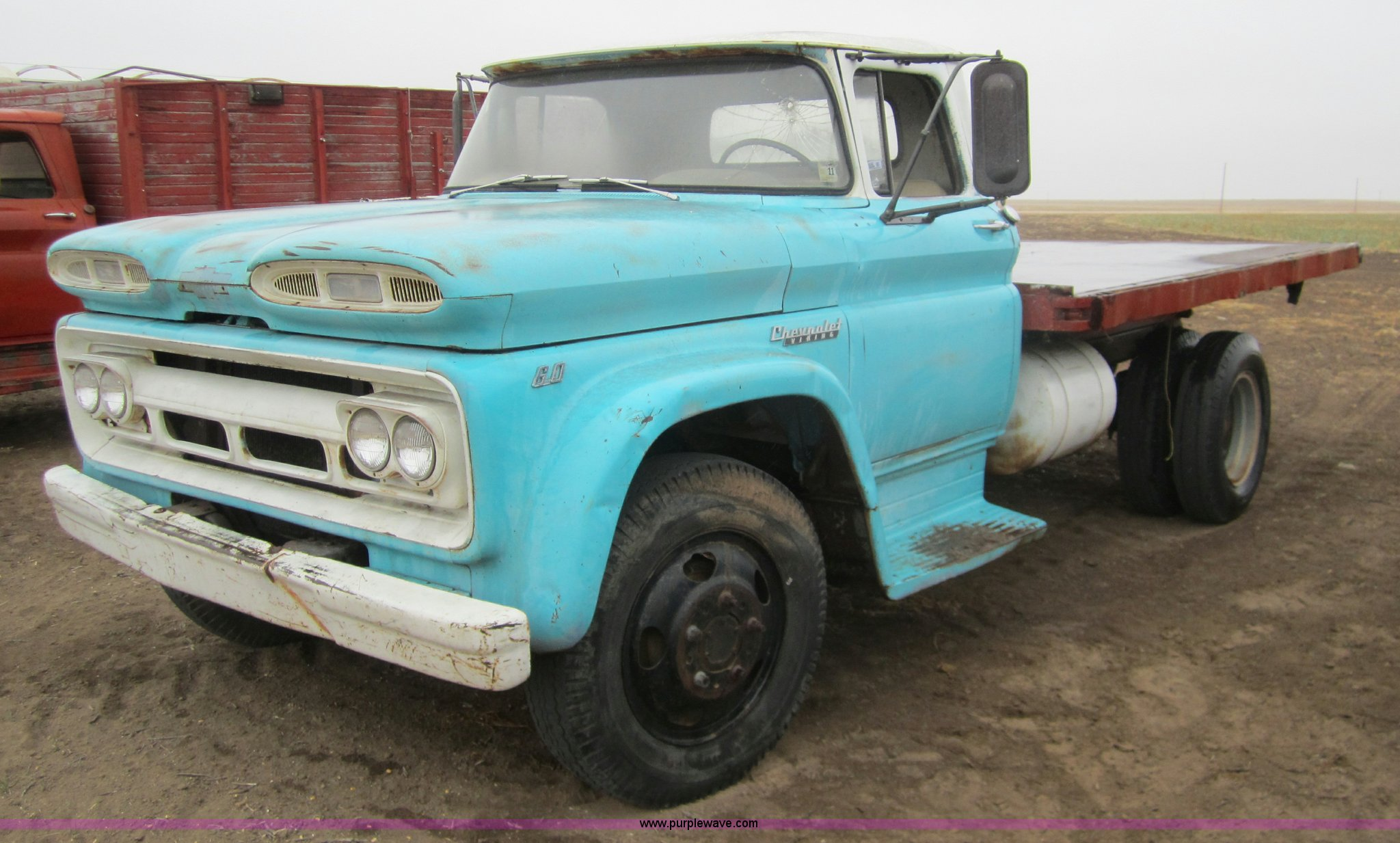 1960 Chevrolet 60 Viking Flatbed Truck Item 6342 Sold A