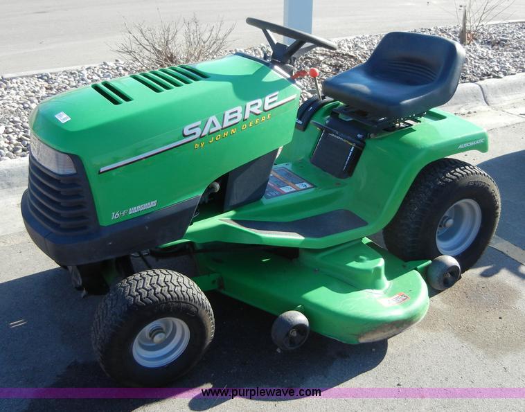 John Deere Sabre 1646 Riding Mower Item 2282 Sold