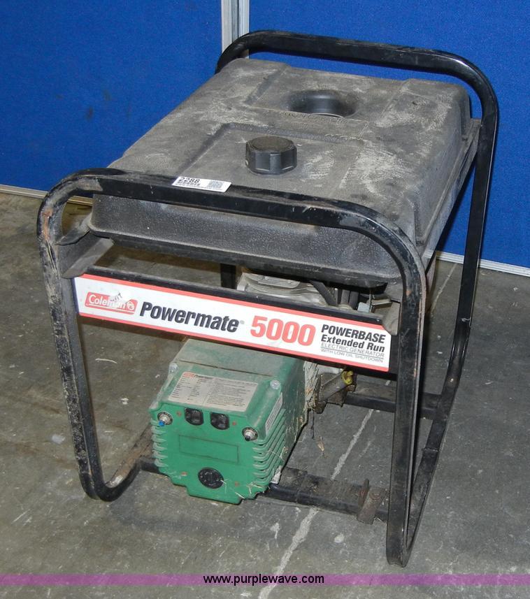 Coleman powermate pm800 generator Manual