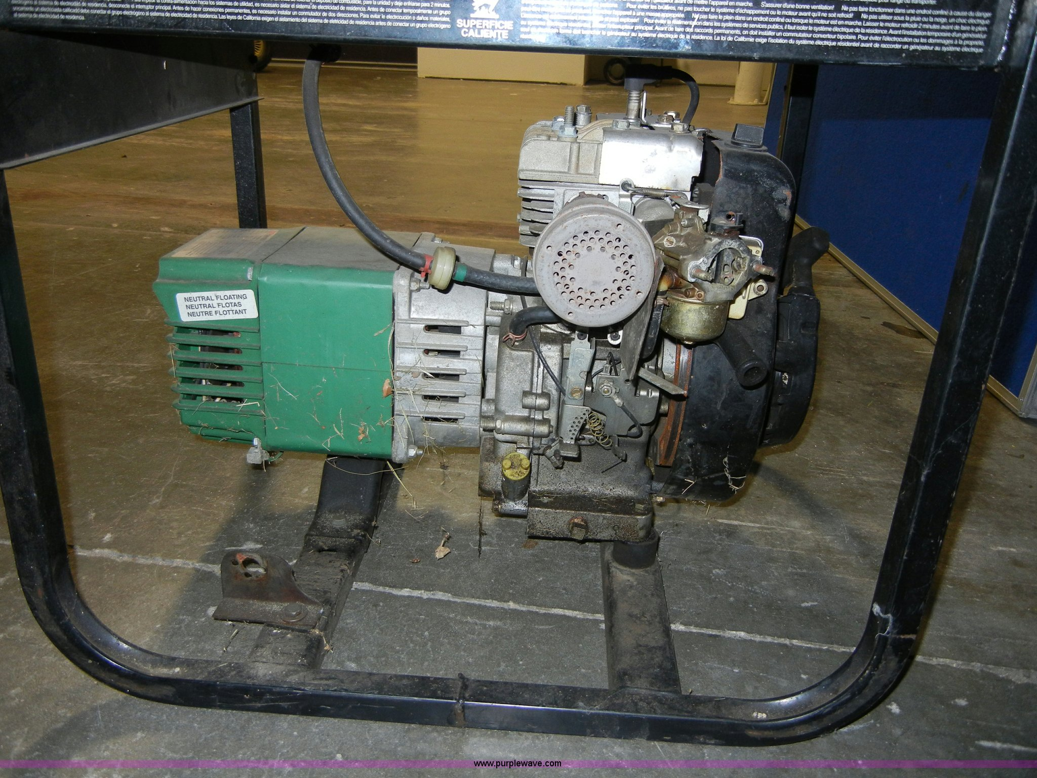 Coleman Powermate 5000 Portable Generator Item 2288