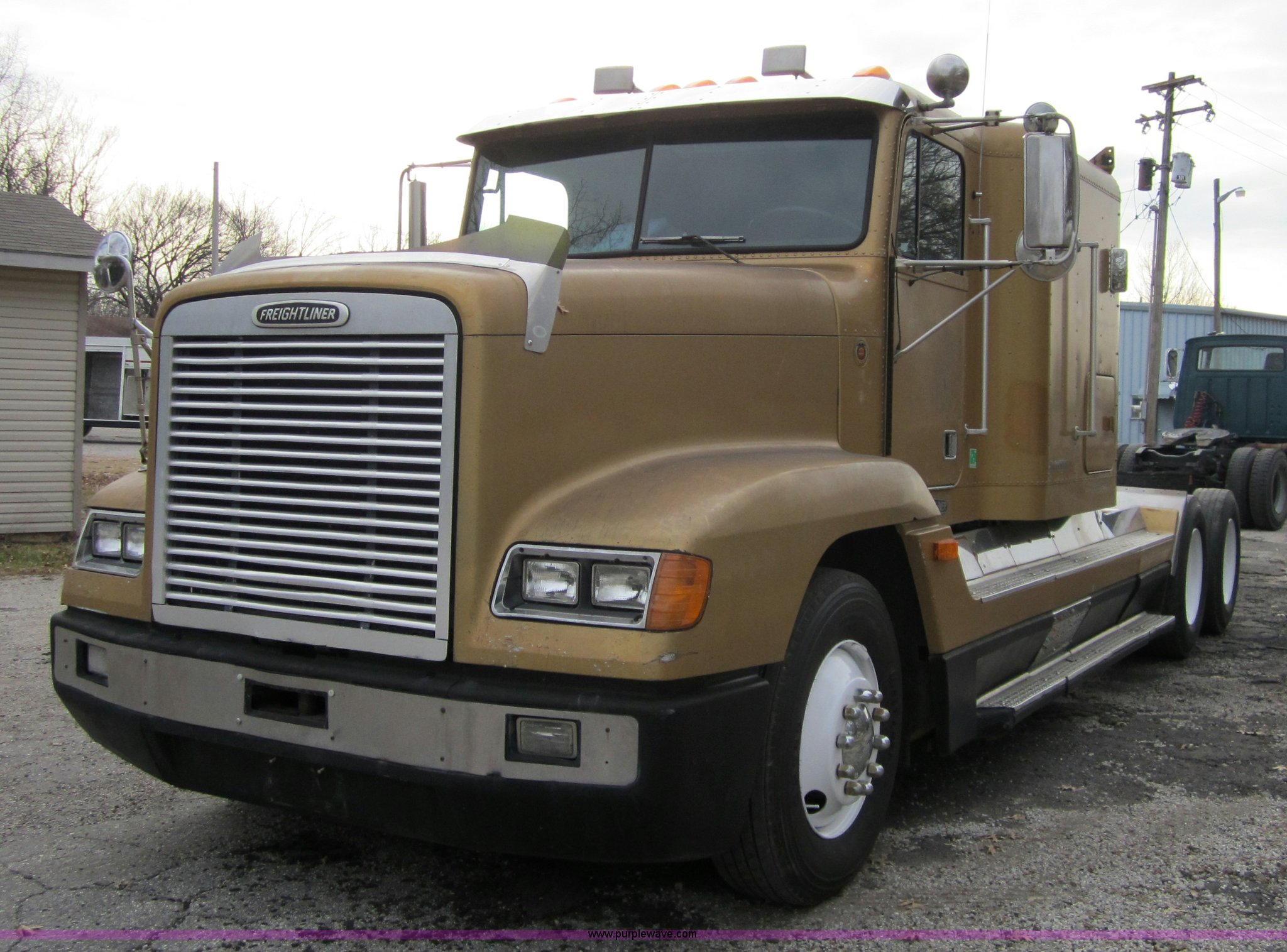 1993 Freightliner Fld120 Semi Truck Item 4344 Sold Apri Fuel Filter For 04 14 0l Frieghtliner Full Size In New Window