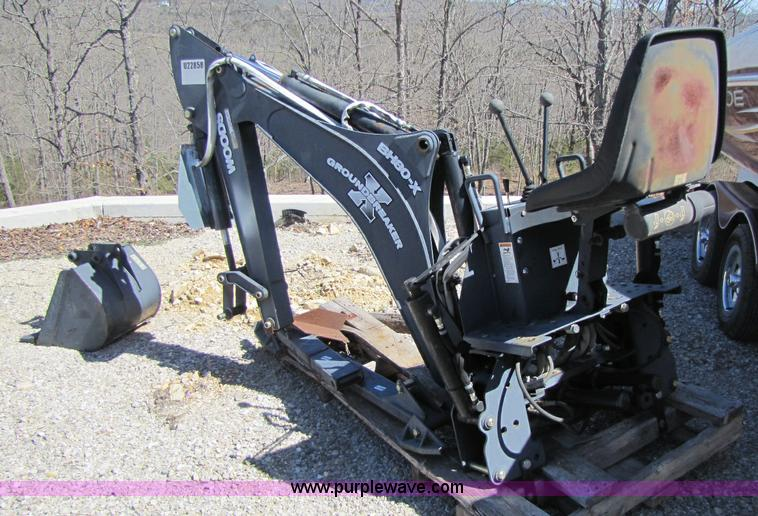 Woods BH80X-1 backhoe attachment | Item 8452 | SOLD! April 2